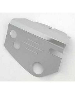 Chevy Steering Box Cover, Chrome, Ribbed, 605 Style, 1955-1957