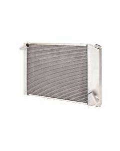 1966-1968 Corvette Be Cool Small or Big Block Aluminum Radiator  With Manual Transmission