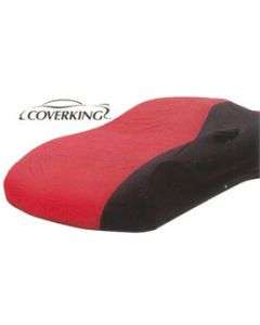 1997-2004 Corvette Car Cover, CoverKing, Two-Tone Stormproof(tm), Without Logo, Red/Black