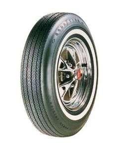 Tire - 695 x 14 - Dual 3/8 Red Line - Goodyear Power Cushion
