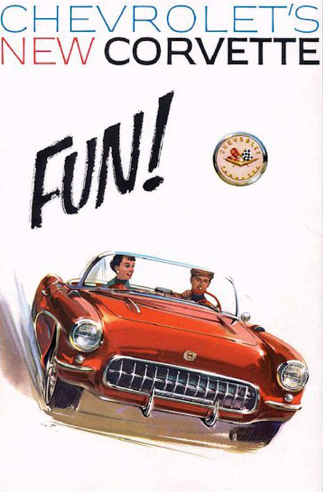 1957 Corvette Ad
