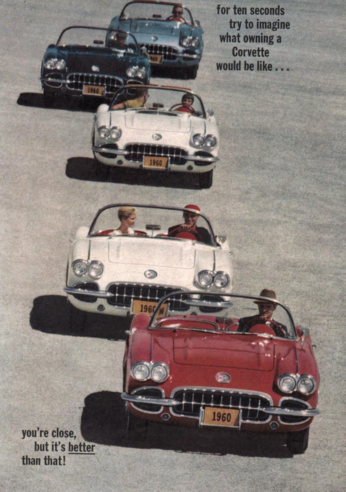 1960 Corvette Ad