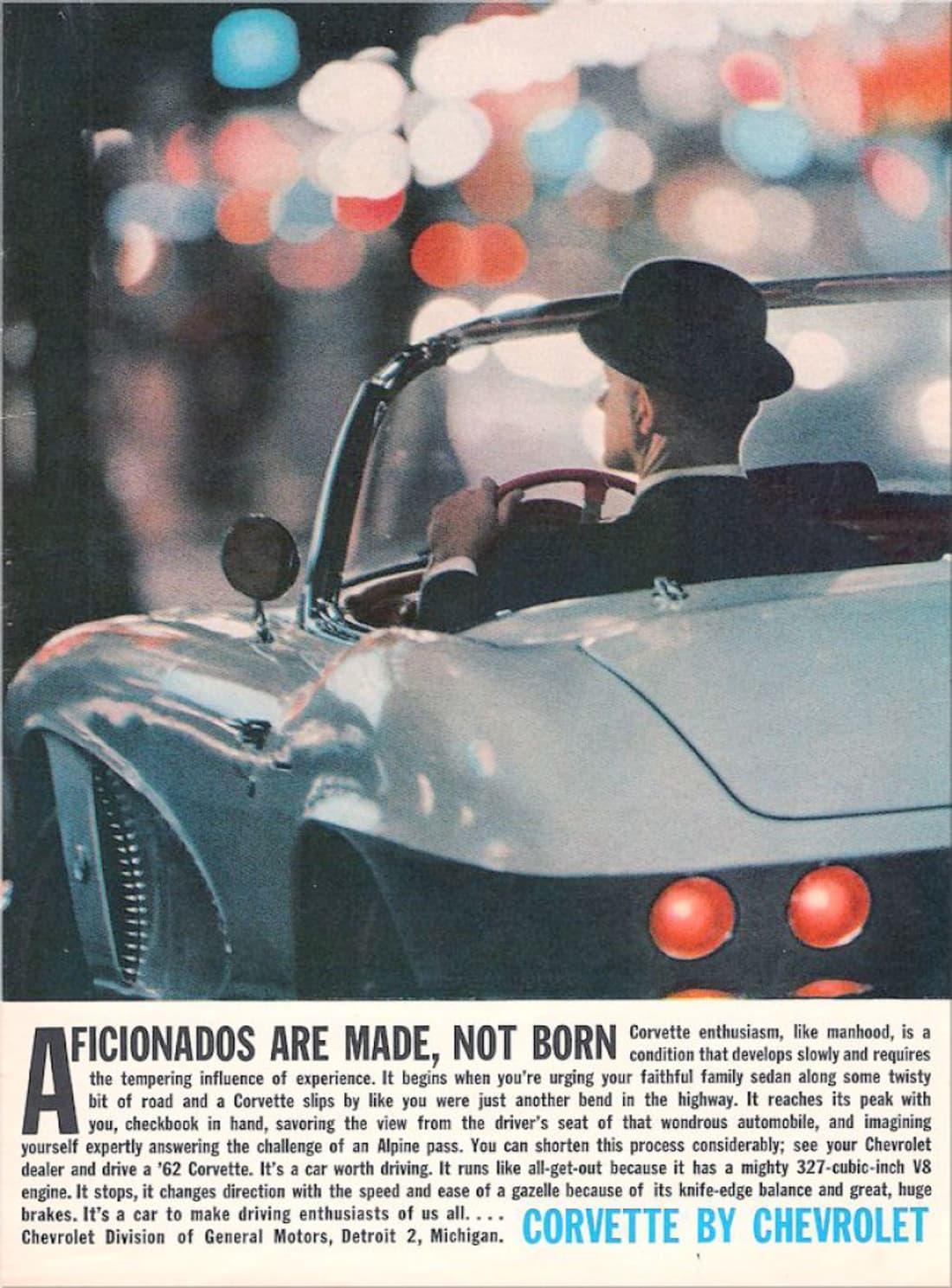 1962 Corvette Ad