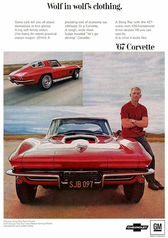 1967 Corvette Ad