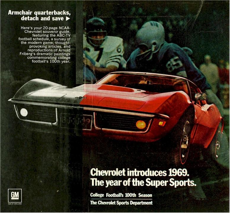 1969 Corvette Ad