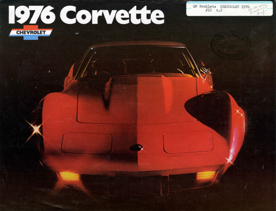 1976 Corvette Ad