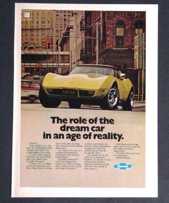 1977 Corvette Ad