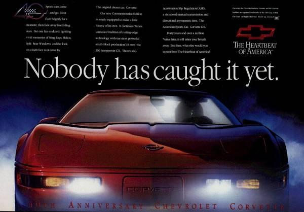 1993 Corvette Ad